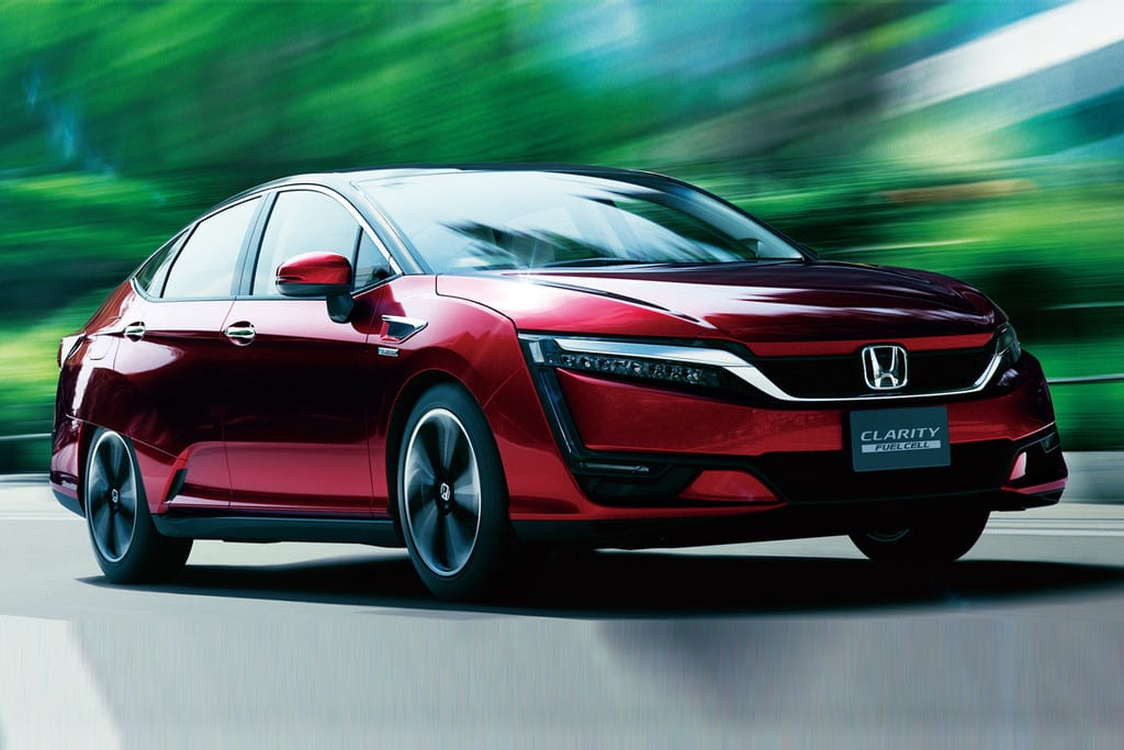 Honda Clarity Ook Als Hybride En Elektrische Auto Honda Wesselink