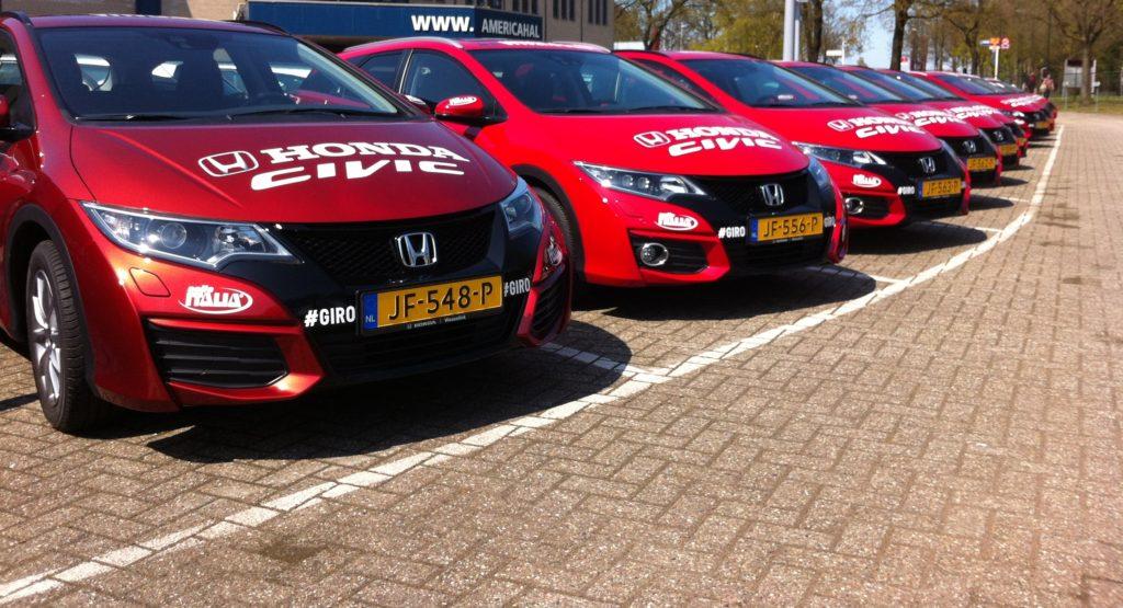Honda sponsor Giro d' Italia