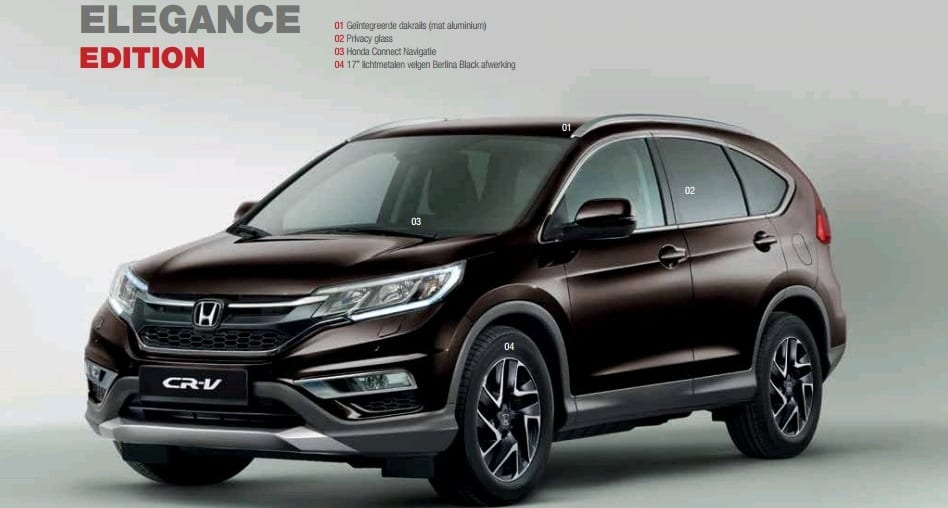 CR-V Elegance Edition