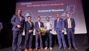 Honda-dealer Wesselink nummer één