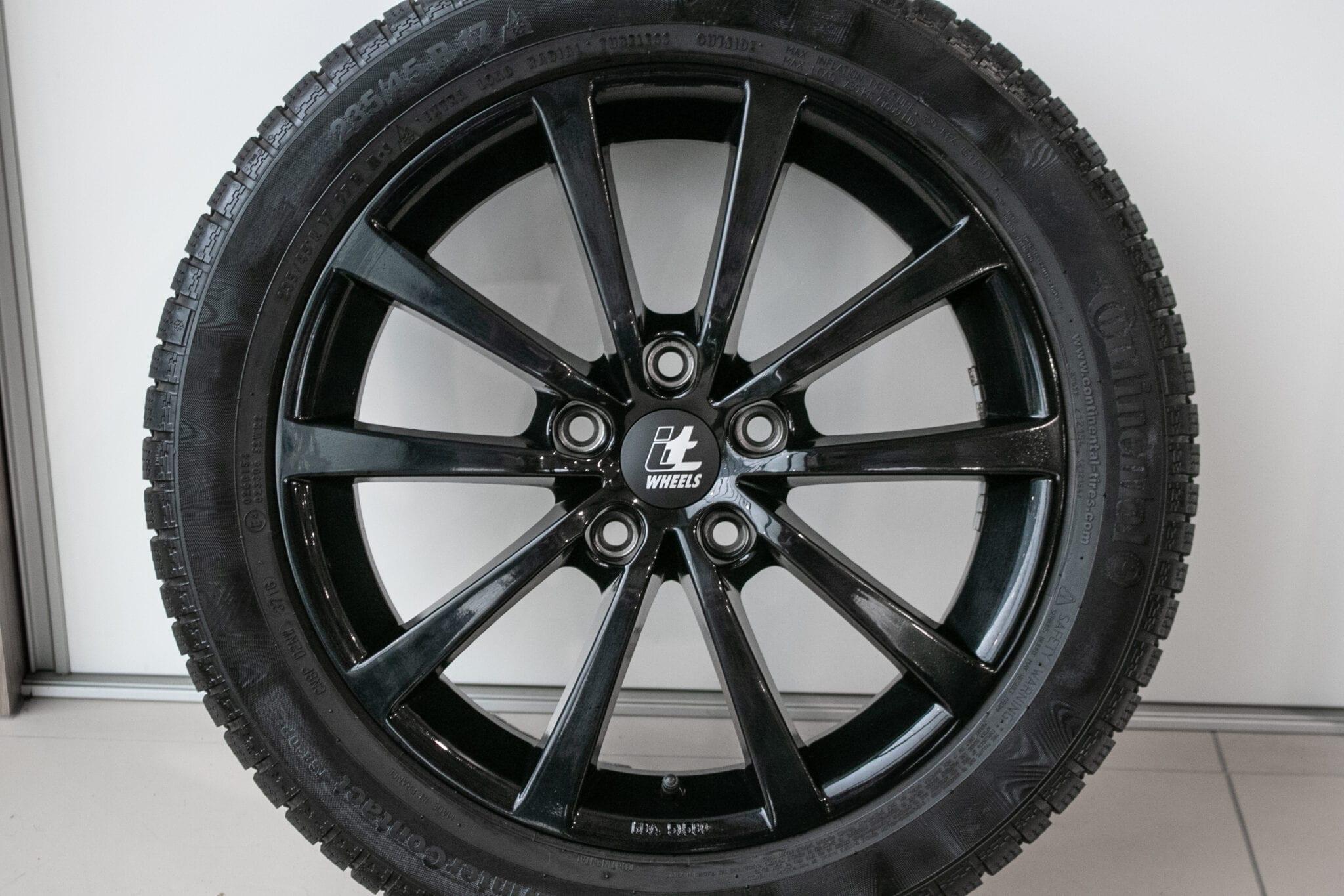 """17"""" Winterwielen voor de Honda Civic ('17-'20) €899,- Gebruikt. Profieldiepte: Z.G.A.N."""