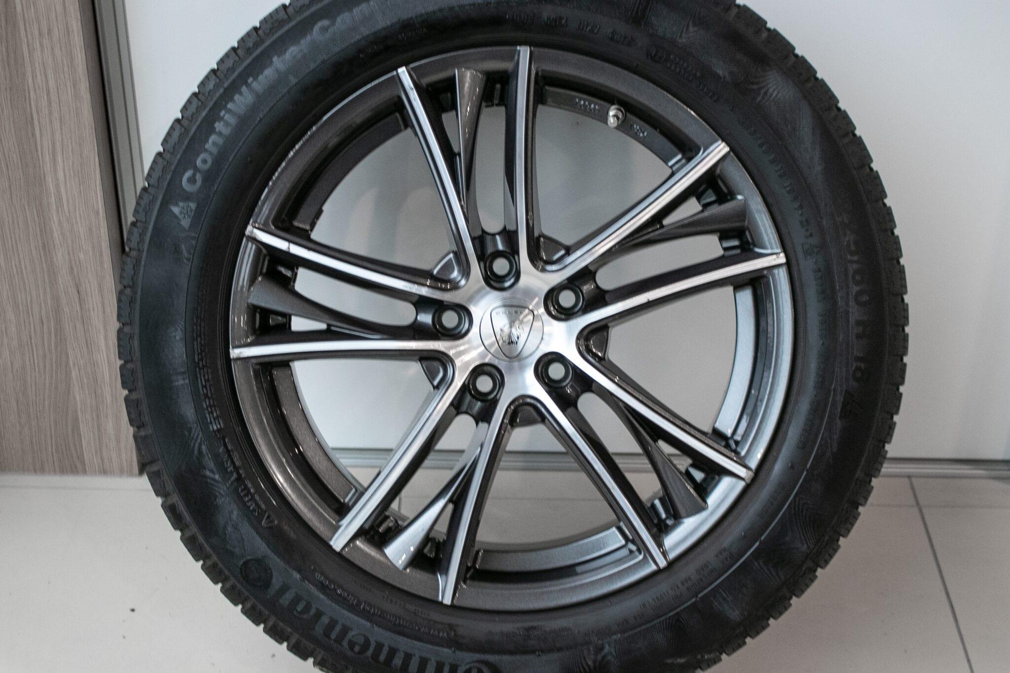 """18"""" Winterwielen voor de Honda CR-V ('07-'17) €599,- Gebruikt. Profieldiepte: 7mm- 7.5mm"""