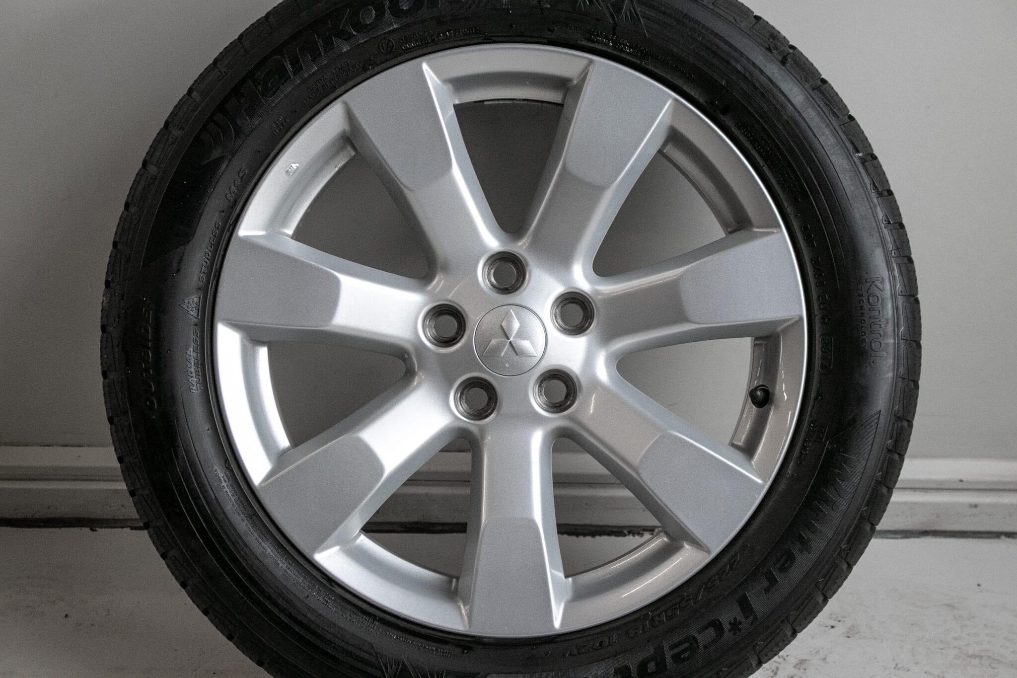"""18"""" Winterwielen voor een Mitsubishi Outlander (PHEV)  €399,- Gebruikt."""