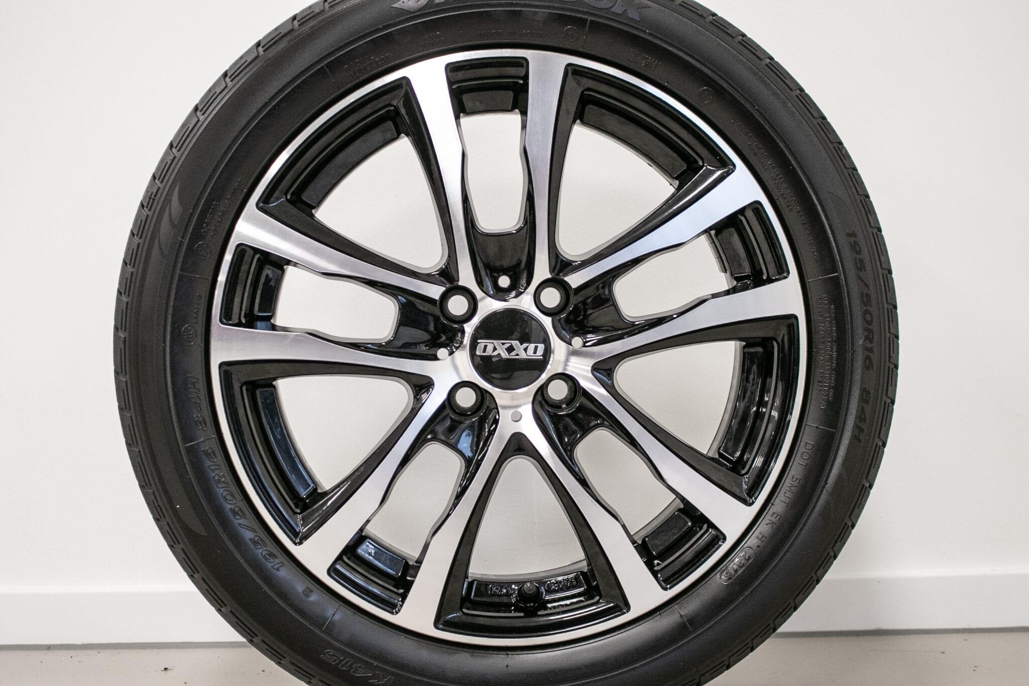 """16"""" Zomerwielen voor de Honda Jazz & Insight ('09-'19) €499,- Gebruikt. Profieldiepte: 6.1mm - 6.2mm"""