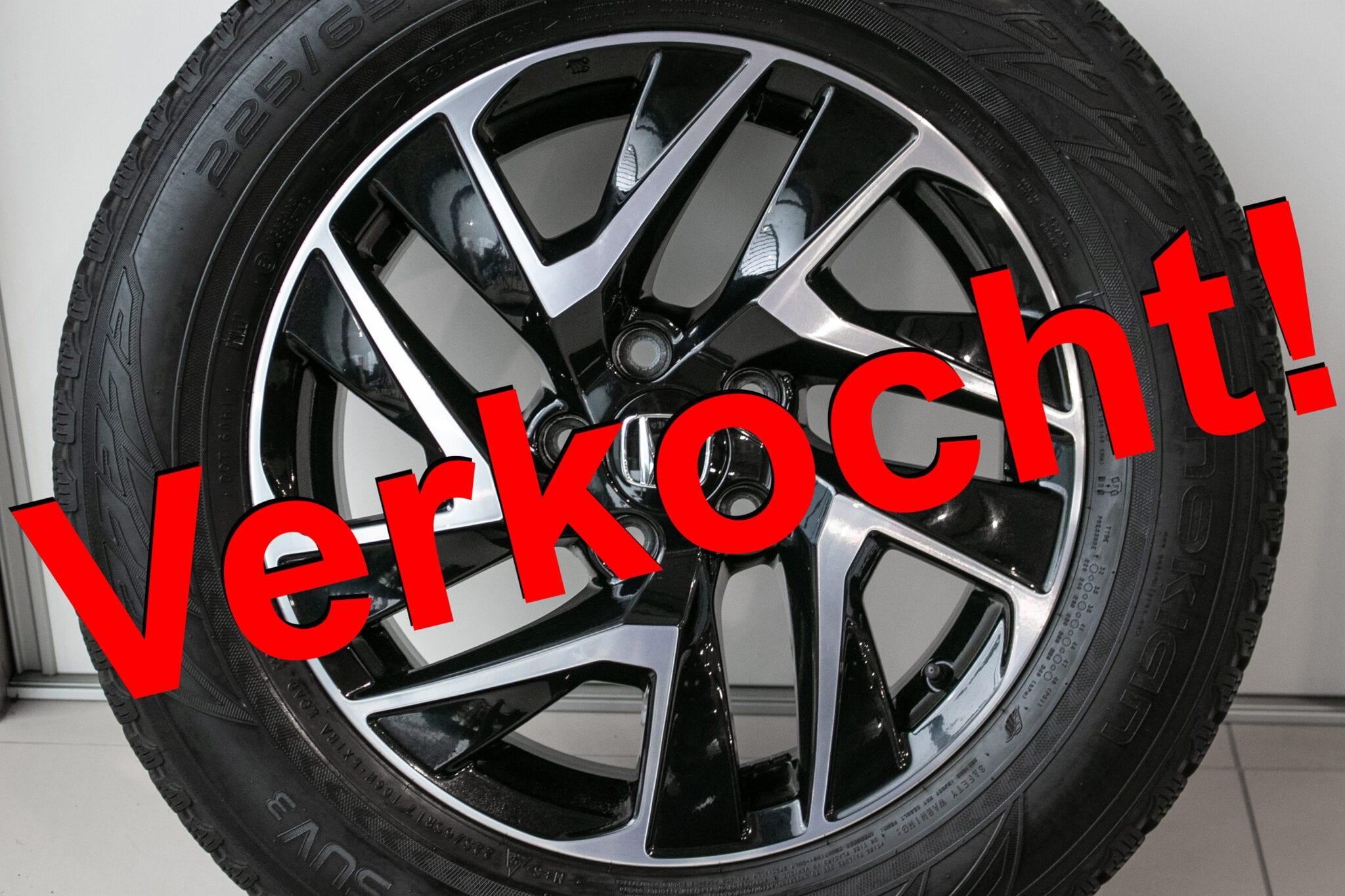 """17"""" Winterwielen voor de Honda CR-V ('07-'17) €650,- Gebruikt. Profieldiepte: 6.1mm - 7.6mm"""
