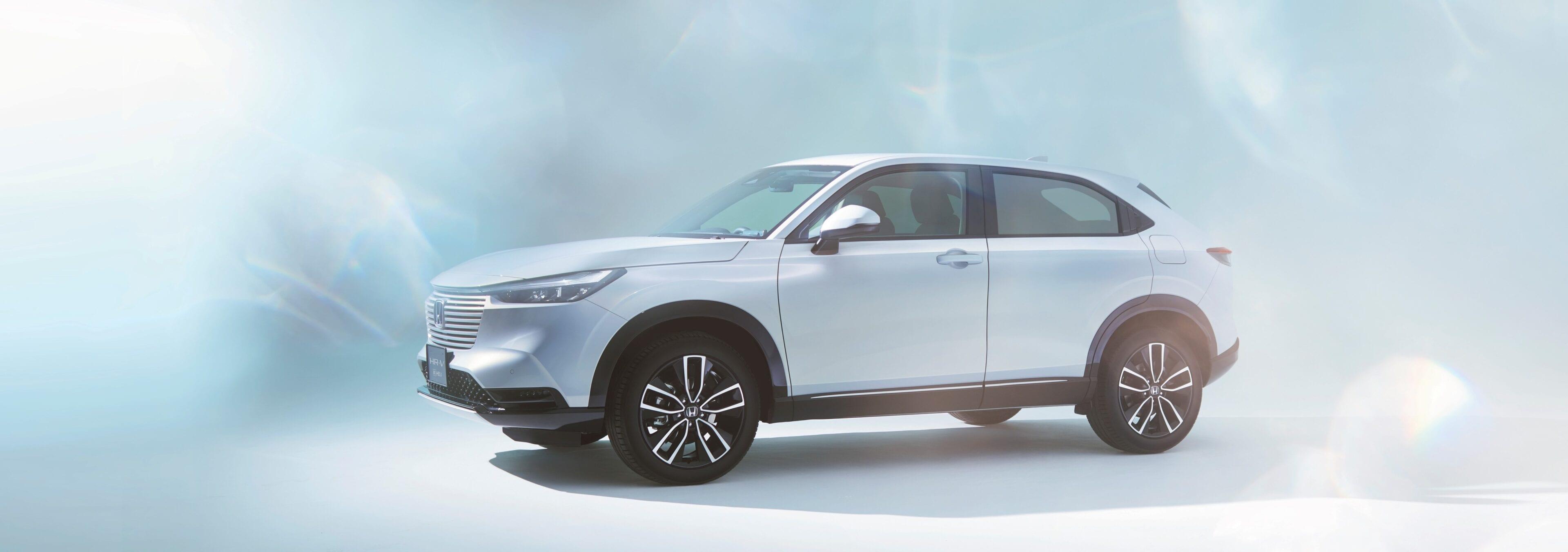 de Naadloze, strakke designfilosofie die Honda toepast maakt de HR-V een ware verschijning
